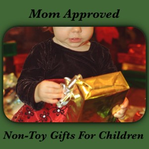 Non Toy gifts for children