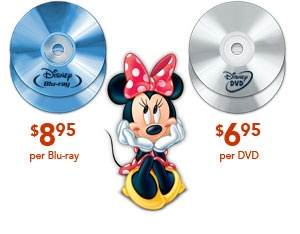 Scratched Disney DVD?  Replace them for a few bucks!