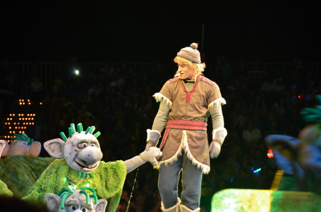 Kristoff and the trolls