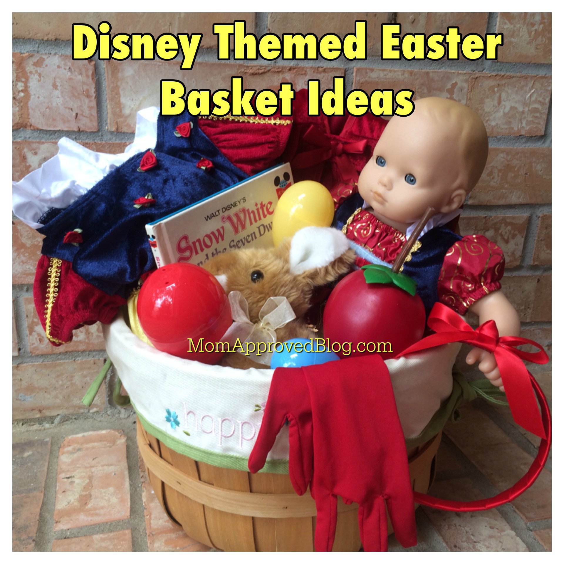 Disney easter basket disney themed easter basket ideas for your disney loving kids negle Choice Image