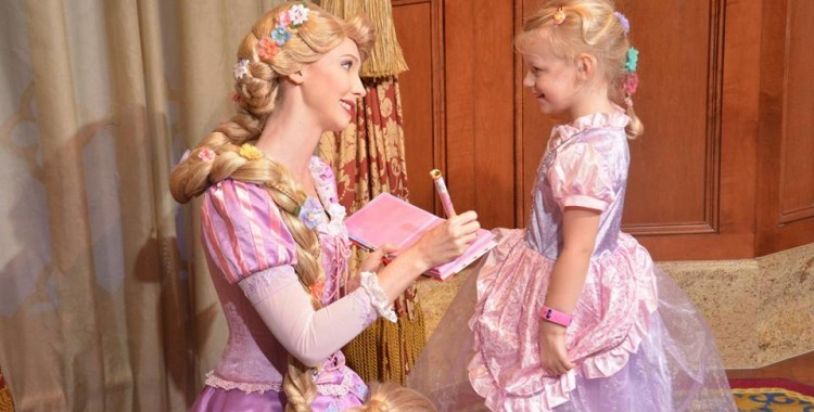 Rapunzel Character Meet featuring the Mom Approved Costumes 5 Star Rapunzel dress