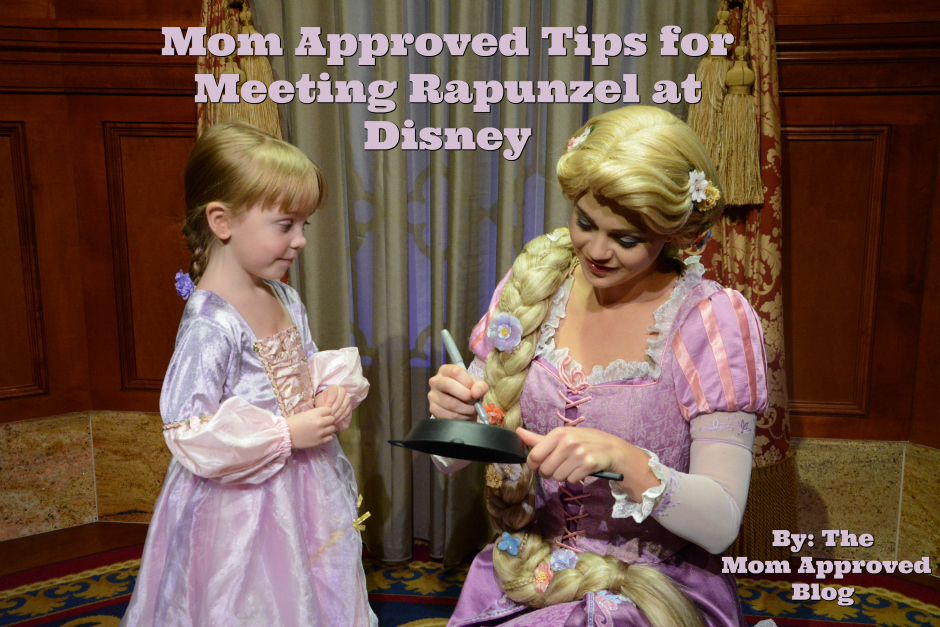 Mom Approved Tips for Meeting Rapunzel at Disney