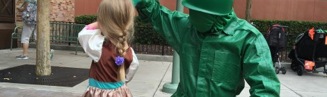 Magical Meet Monday - Meet The Green Army Men at Disney