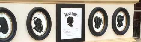 The Best Non Disney Souvenir at Disney World - a Portrait Silhouette