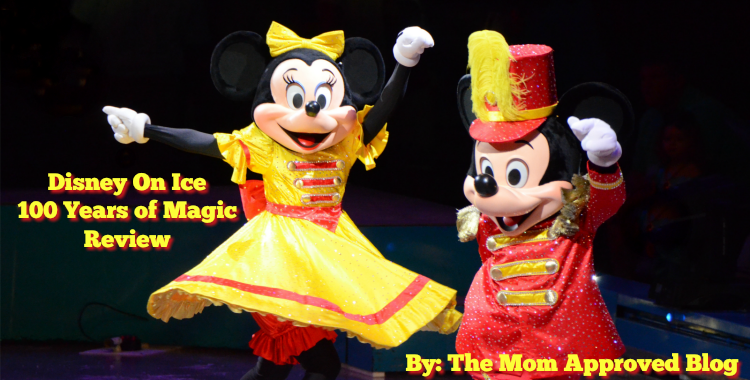 Disney on Ice Minnie - The Mom Approved Blog