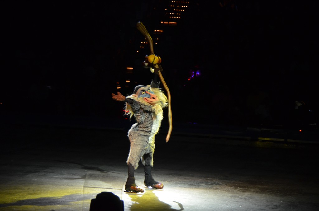 Rafiki Disney On Ice