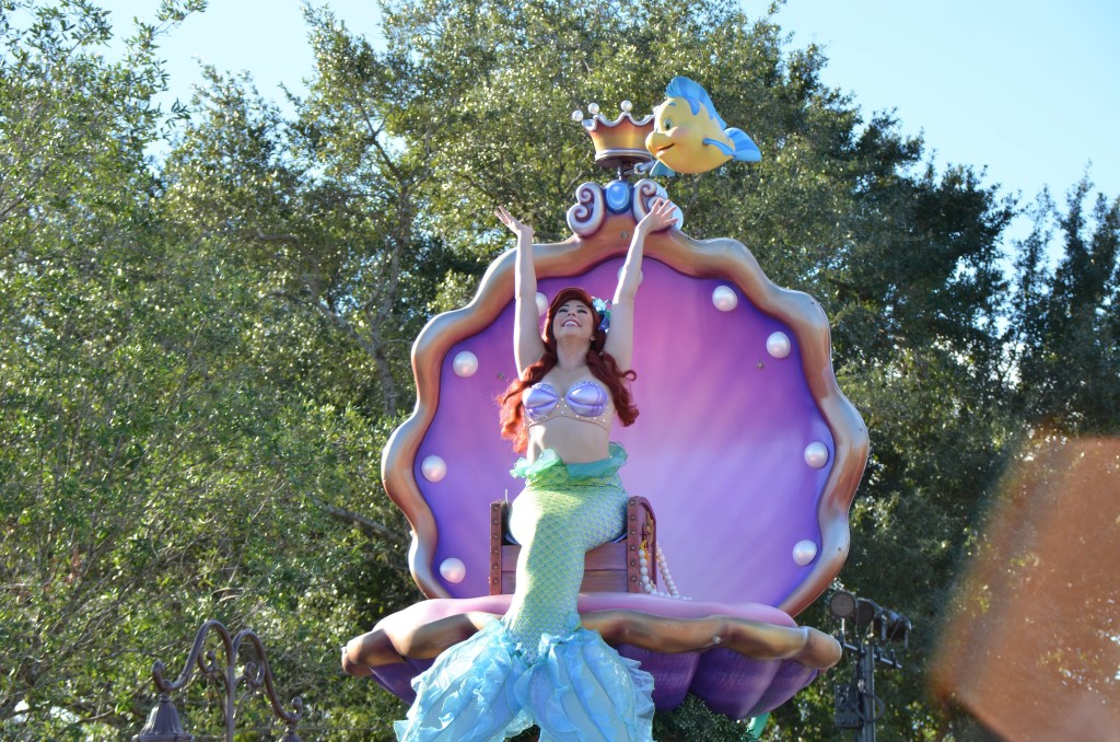 Ariel - Festival of Fantasy Parade