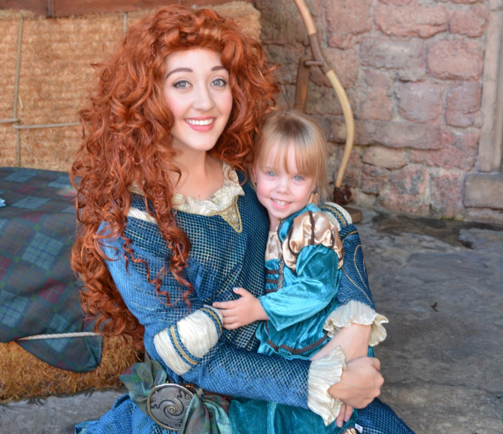 Merida Character Meet - Walt Disney World