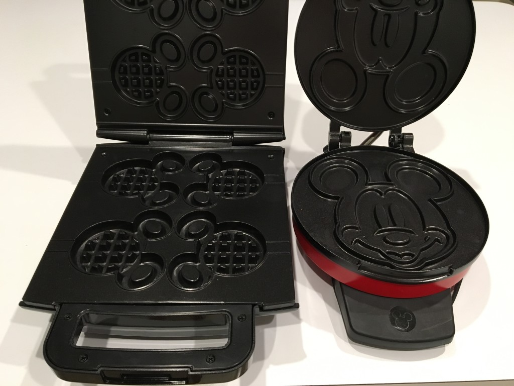 Mickey Waffle Maker Interior - Mickey Waffle Maker Review by the Mom Approved Blog