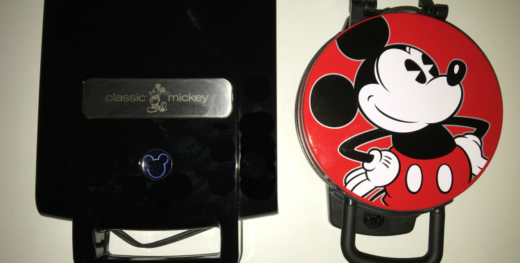 Mickey Waffle maker - side by side Mickey Waffle Maker Review by the Mom Approved Blog