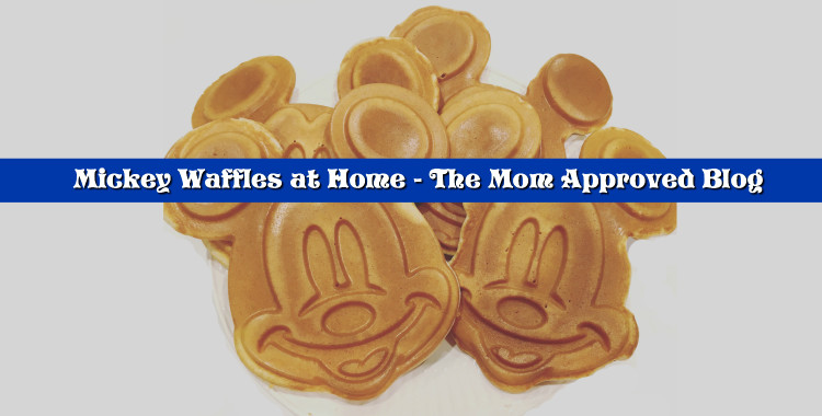 Mickey Waffles at Home Header