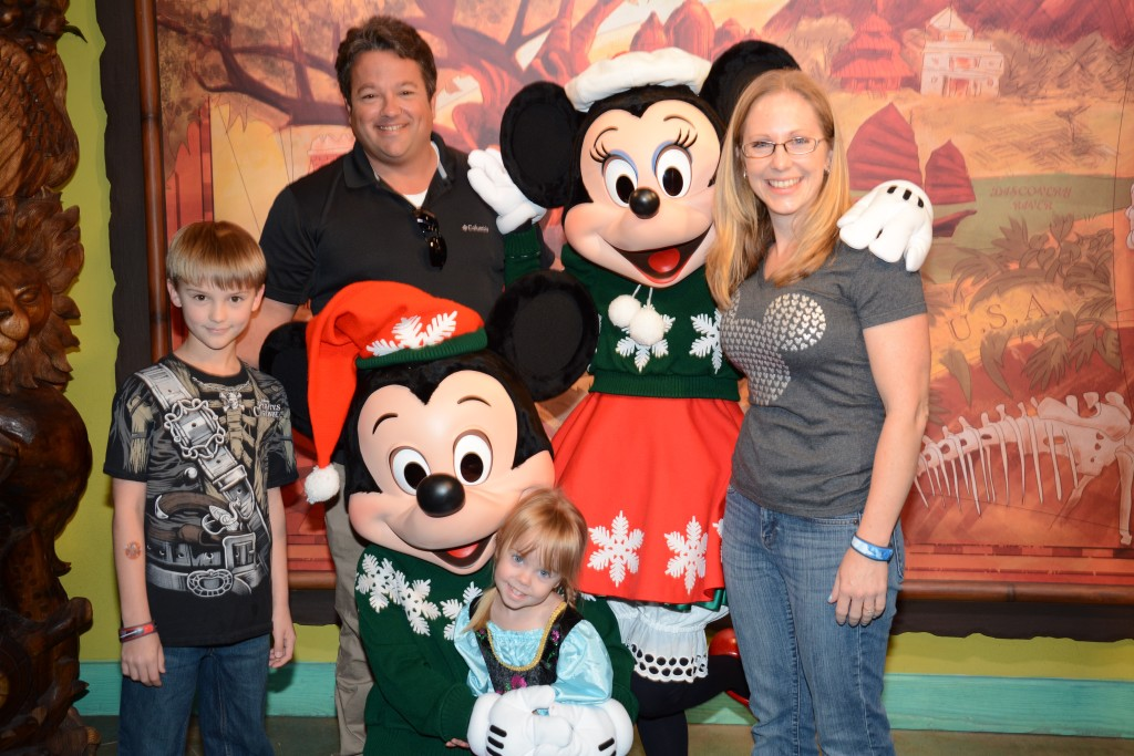 Mickey and Minnie Character Meet