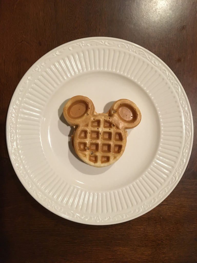 Mini Mickey Waffle - Mickey Waffle Maker Review by the Mom Approved Blog