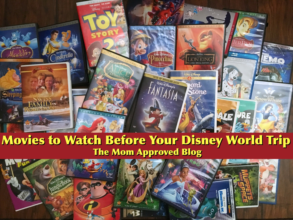 Movies to Watch before a Disney Trip