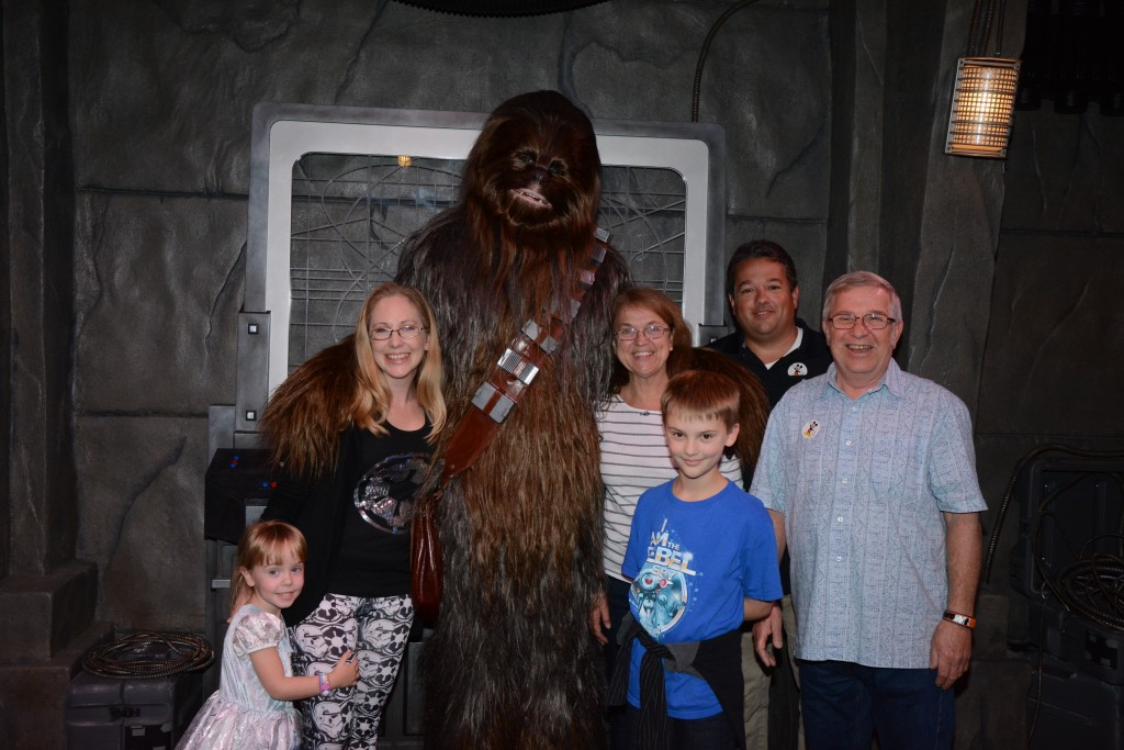 Chewbacca Meet - Walt Disney World